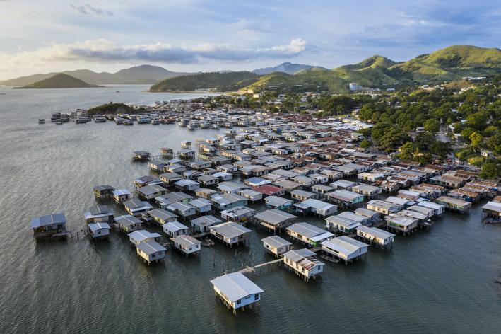 Discover the Coral Sea village