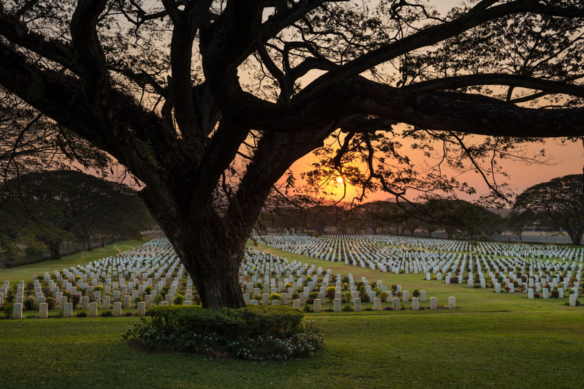 Pay your respects at Bomana War Cemetery