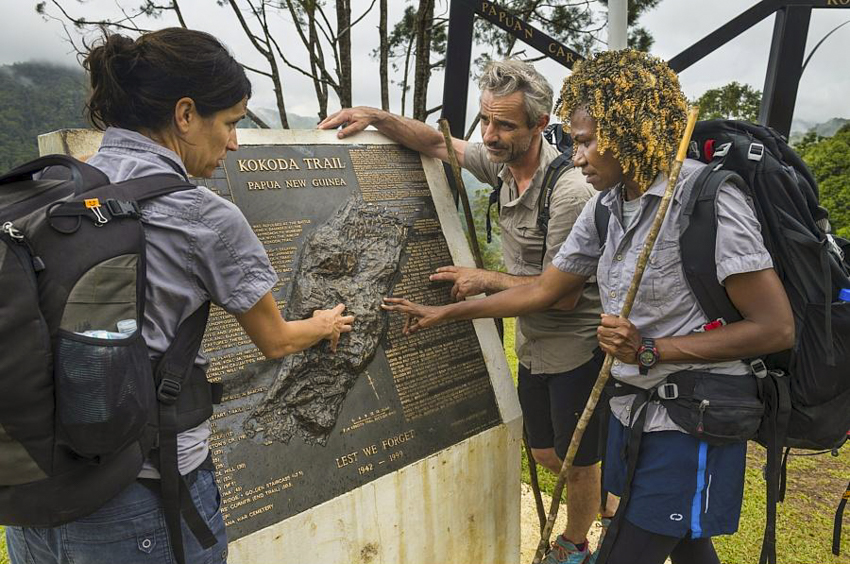 Walk the famous Kokoda Historical Trail